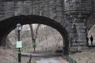 77th St stone arch, Central Park
